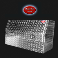 3/4 Open Door 1800x530x820 Ute Tool Box