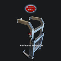 Ute canopy foldable ladder