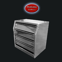 Aluminium Toolboxes Drawer Units